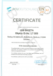 ENplus Certificate A2 UAB Bageta